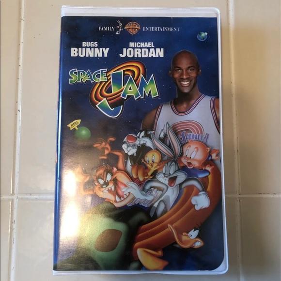 Space jam VHS vintage